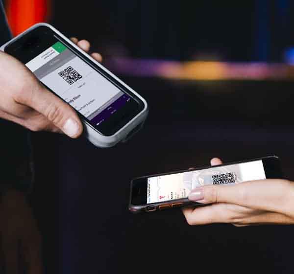 ticket scanning